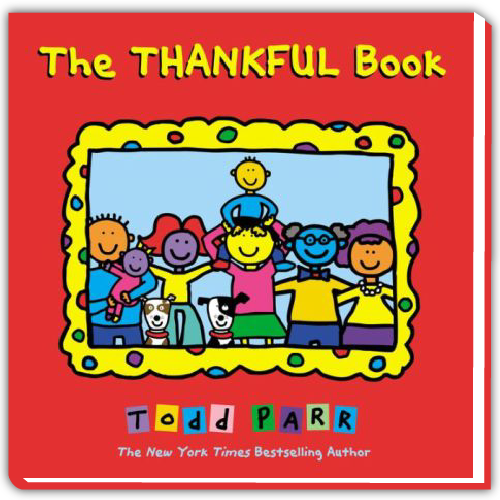 Todd Parr Spotify Playlist - The Thankful Book
