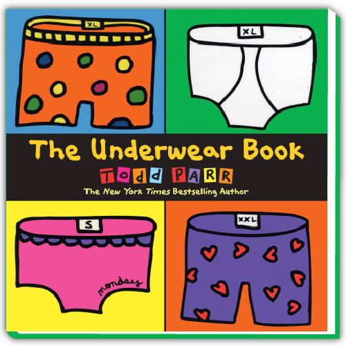 Todd Parr Spotify Playlist - The Underwear Book