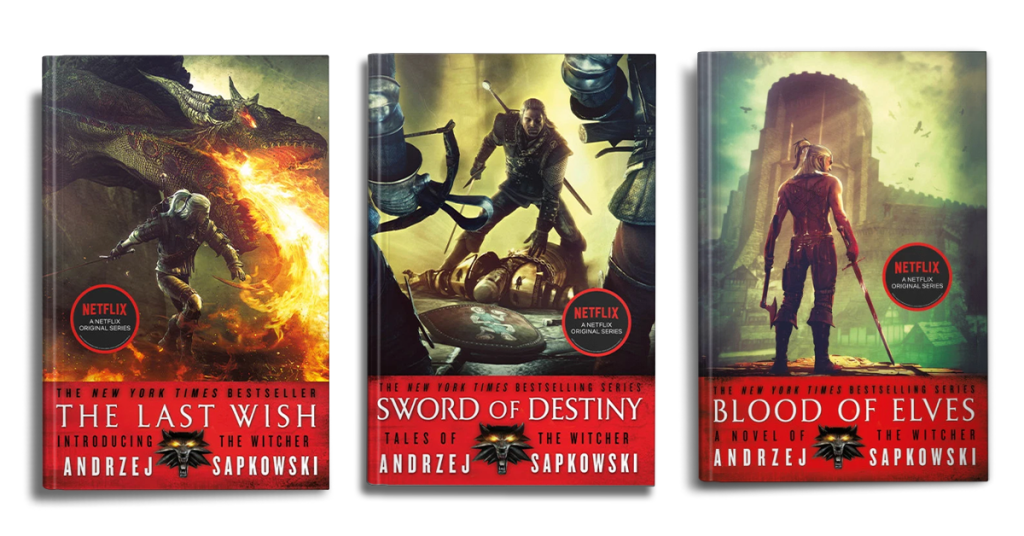 Andrzej Sapkowski's Witcher Books in Order Featured Image
