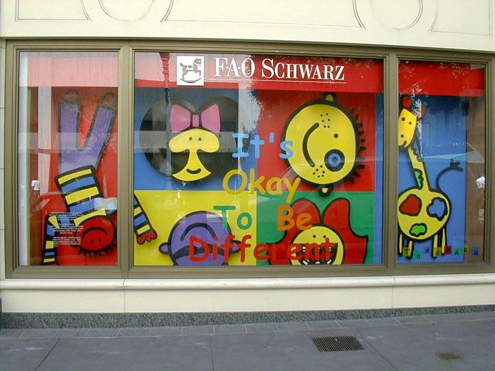 Todd Parr FAO Schwarz