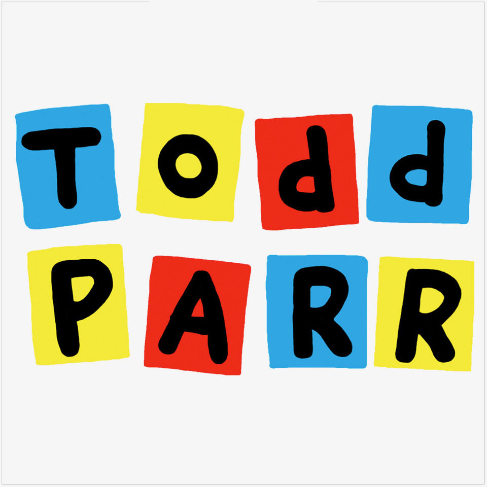 Todd Parr Stacked Logo
