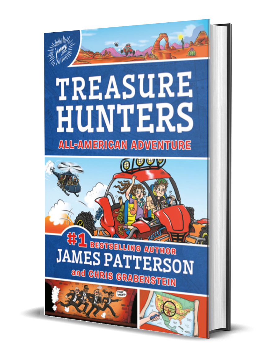 James Patterson - Treasure Hunters