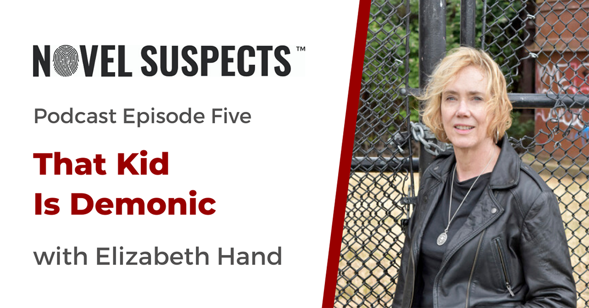 Elizabeth Hand on the Novel Suspects Podcast