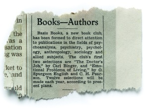 the beginning of Basic Books