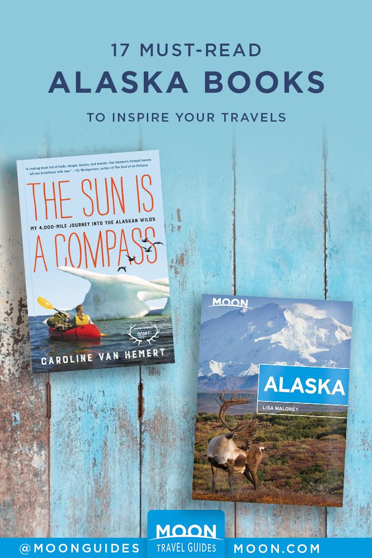 books about alaska pinterest graphic
