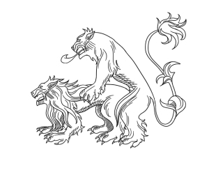 Lame of Thrones Illustration of Creatures