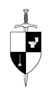 Lame of Thrones Illustration of Sword and Crest
