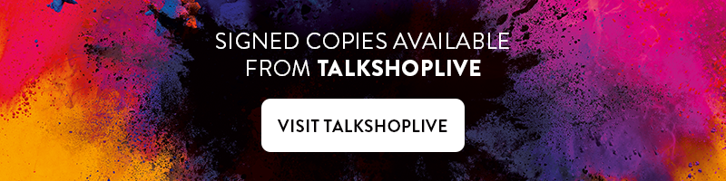 Signed copies available from TALKSHOPLIVE - click to visit TALKSHOPLIVE
