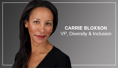 Carrie Bloxson - VP, Diversity and Inclusion