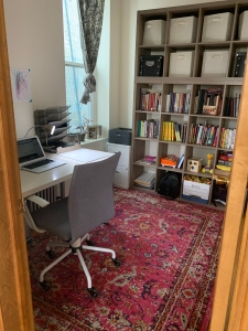 Naima Coster's Writing Space View